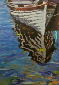 Moored Boat, Mountshannon